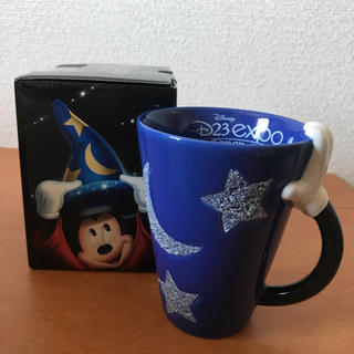 ディズニー(Disney)のディズニー D23 EXPO 2013 ソーサラー マグカップ(キャラクターグッズ)