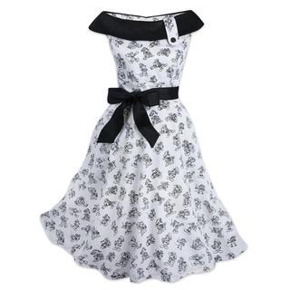 ディズニー(Disney)のミッキーマウス 90周年 ドレス(ひざ丈ワンピース)