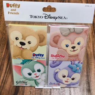 ディズニー(Disney)のDuffy and Friends メモ帳(ノート/メモ帳/ふせん)