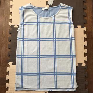 セシルマクビー(CECIL McBEE)のセシルマクビー 新品ノースリーブカットソーM(カットソー(半袖/袖なし))
