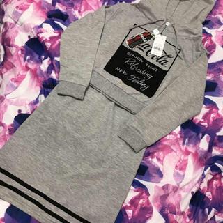セシルマクビー(CECIL McBEE)のセシル 完売 新品 セットアップ💓パーカー スカート(セット/コーデ)