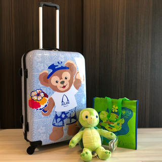 Disney - アウラニ限定 スーツケース オル付き ダッフィー シェリーメイ