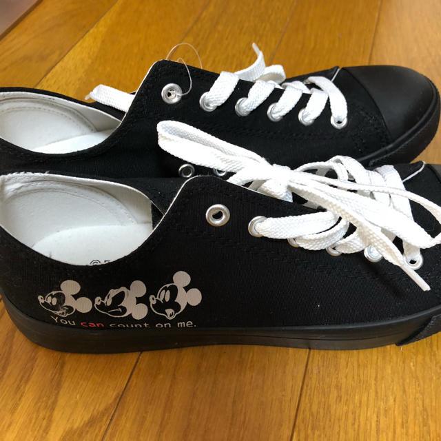 しまむら(シマムラ)のしまむら ミッキースニーカー レディースの靴/シューズ(スニーカー)の商品写真