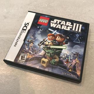 レゴ スターウォーズ Ⅲ LEGO STAR WARS DSソフト レア