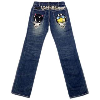 バンソン(VANSON)の送料無料バンソンLTV-832コラボメンズ新品パンツインディゴ30インチ(デニム/ジーンズ)