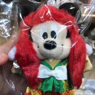 ディズニー(Disney)のミッキー連獅子(赤)(キャラクターグッズ)