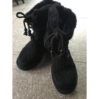 スケッチャーズ(SKECHERS)のSKECHERSニットブーツ23cm(ブーツ)