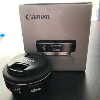 キヤノン(Canon)のCanon EF 40mm f2.8 STM(レンズ(単焦点))