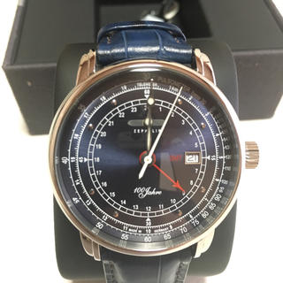 ツェッペリン(ZEPPELIN)のZEPPELIN ツェッペリン 100周年モデル 腕時計(腕時計(アナログ))