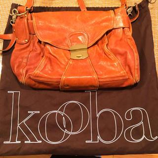 クーバ(Kooba)のkooba クーバ レザーバッグ(ショルダーバッグ)