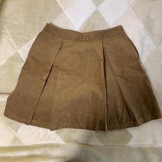 ジーユー(GU)のGU コーデュロイスカート(ミニスカート)