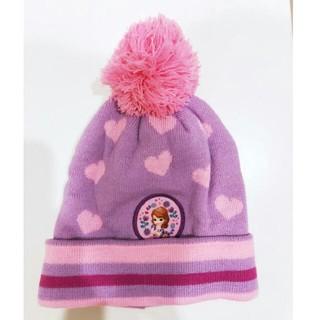 ディズニー(Disney)の小さなプリンセスソフィアニット帽ディズニープリンセス(帽子)