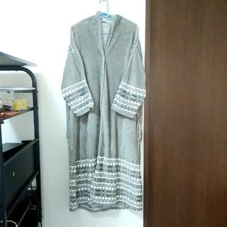 ニトリ(ニトリ)のニトリ 着る毛布 ロング丈 グレー (ルームウェア)
