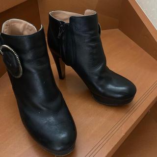 シーバイクロエ(SEE BY CHLOE)のシーバイクロエ SEE BY CHOE リボンショートブーツ(ブーツ)