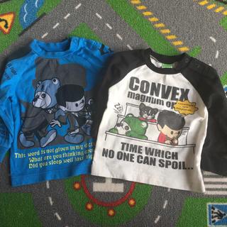 コンベックス(CONVEX)のコンベックス ロンT  80センチ  二枚(Tシャツ)