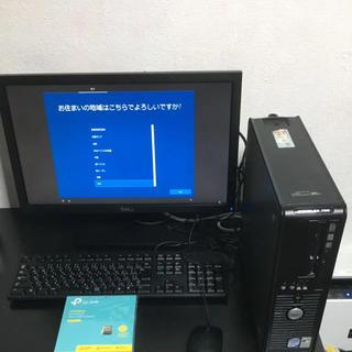 デル(DELL)のデスクトップpcワンセット(デスクトップ型PC)