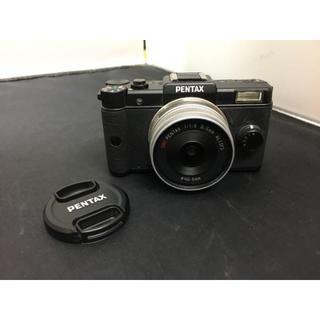 ペンタックス(PENTAX)の美品 PENTAX Q 01 ミラーレス一眼レフカメラ ブラック(デジタル一眼)