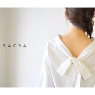 サクラ(SACRA)のsacra ブラウス 38(シャツ/ブラウス(長袖/七分))