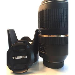 タムロン(TAMRON)のtamron70-300 f4-5.6 di nikon ニコン フルサイズ(レンズ(ズーム))