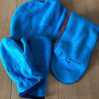 クミキョク(kumikyoku(組曲))の★値下げ★組曲 非売品 マフラー手袋帽子セット(マフラー/ストール)