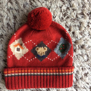 ファミリア(familiar)のファミリア  ニット帽 Sサイズ(帽子)