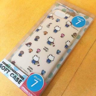 サンリオ(サンリオ)のキティ iPhone7 スマホケース SAN754KTB(iPhoneケース)