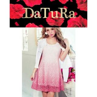 ダチュラ(DaTuRa)のDaTuRa グラデーション レース ワンピ(ミニワンピース)