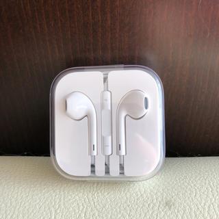 アップル(Apple)のiPhone イヤフォン(正規品)(ヘッドフォン/イヤフォン)