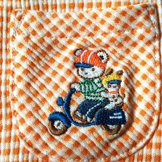 ファミリア(familiar)のファミリア シャツ ブラウス 100㎝ ファミちゃん 刺繍(ブラウス)