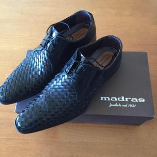 マドラス(madras)の R i R i Rin様専用 マドラス ビジネスシューズ 編み込み madra(ドレス/ビジネス)