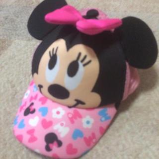 ディズニー(Disney)のミニー キャップ なりきり コスプレ 50cm(帽子)