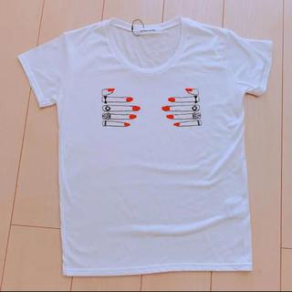 スパイラルガール(SPIRAL GIRL)の新品 スパイラルガール  ネイル だまし絵 Tシャツ(Tシャツ(半袖/袖なし))