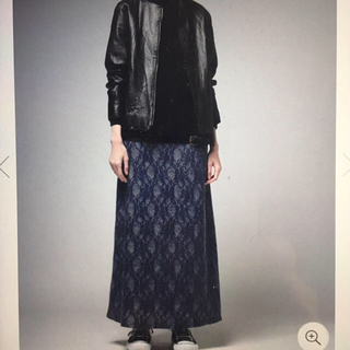 アンティカ(antiqua)のアンティカ ZOZO限定 Aラインレーススカート 新品(ロングスカート)