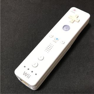 Wii - wiiリモコン ニンテンドー 任天堂 シロ ホワイト 白 純正 送料無料