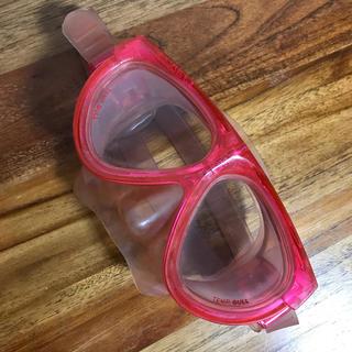 ガル(GULL)のGULL スキューバ用 マスク マンティス ピンク 送料無料(マリン/スイミング)