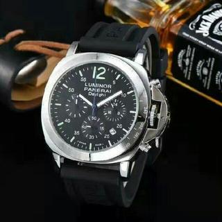 パネライ(PANERAI)のPANERAI(パネライ)  黒文字盤  メンズ 腕時計 (腕時計(アナログ))
