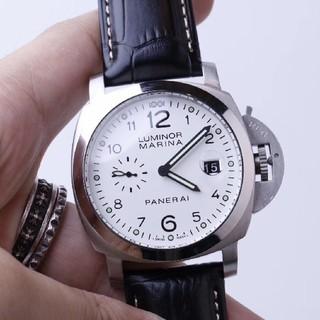 パネライ(PANERAI)の新品 PANERAI ラジオミール ロゴ3デイズ アッチャイオ 自動巻 (腕時計(デジタル))