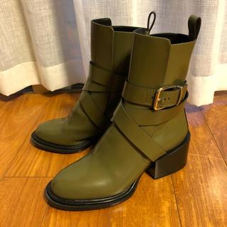 ジルサンダー(Jil Sander)の2016awジルサンダー バックルブーツ 37(ブーツ)