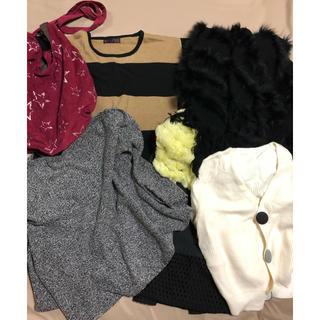 サブロク(SABUROKU)の洋服とバッグ まとめ売り 定価42万のリアルフォッスアウターあり(毛皮/ファーコート)