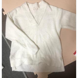 ショコラフィネローブ(chocol raffine robe)のVネックニット(ニット/セーター)