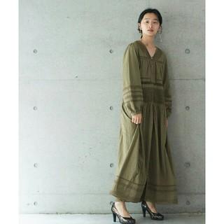 ノートエシロンス(note et silence)のrukkilill lace dress(ロングワンピース/マキシワンピース)