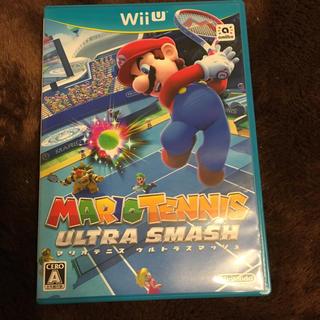 ウィーユー(Wii U)のマリオテニス ウルトラスマッシュ wii u (家庭用ゲームソフト)