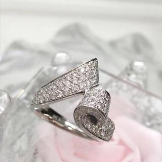Pt900 ダイヤモンド ゴージャス デザイン リング 19-123(リング(指輪))