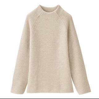 MUJI (無印良品) - 無印良品ボトルネックセーター