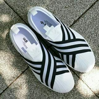 23cm adidas アディダス スリッポン スニーカー