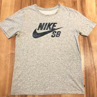 NIKE - NIKE SB ロゴTシャツ グレー メンズM ドライフィット
