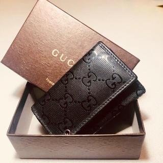 グッチ(Gucci)のGUCCI インプリメ キーケース 6連 ブラック グッチ GG(キーケース)