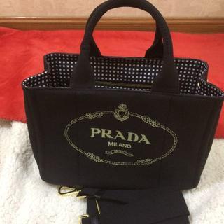 PRADA - プラダカナパトートバッグ超美品