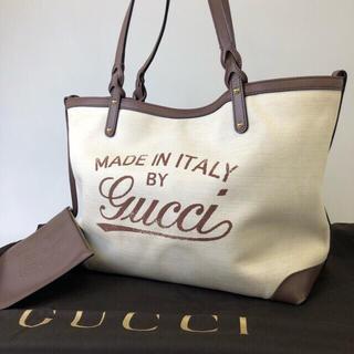 グッチ(Gucci)の正規品 GUCCI グッチ スウィング ホワイト トートバッグ SD1-1(トートバッグ)