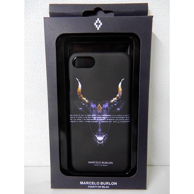 防水 iphone7 ケース レディース | MARCELO BURLON - マルセロバーロン  iPhoneカバー 1点のみの通販 by ララ's shop|マルセロブロンならラクマ